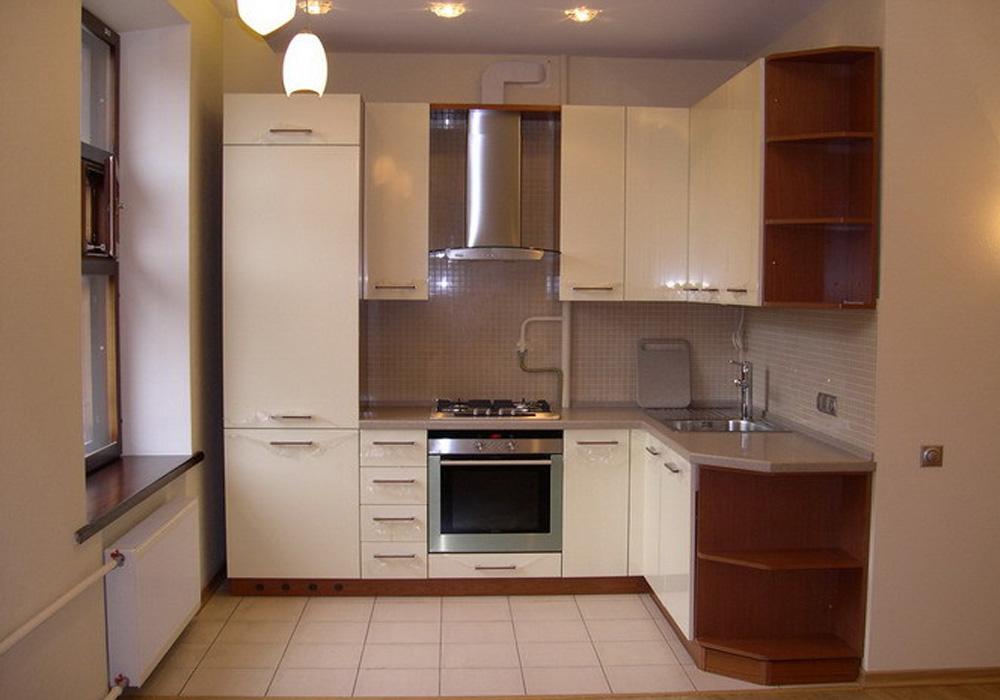 Дизайн кухни для малогабаритных квартир