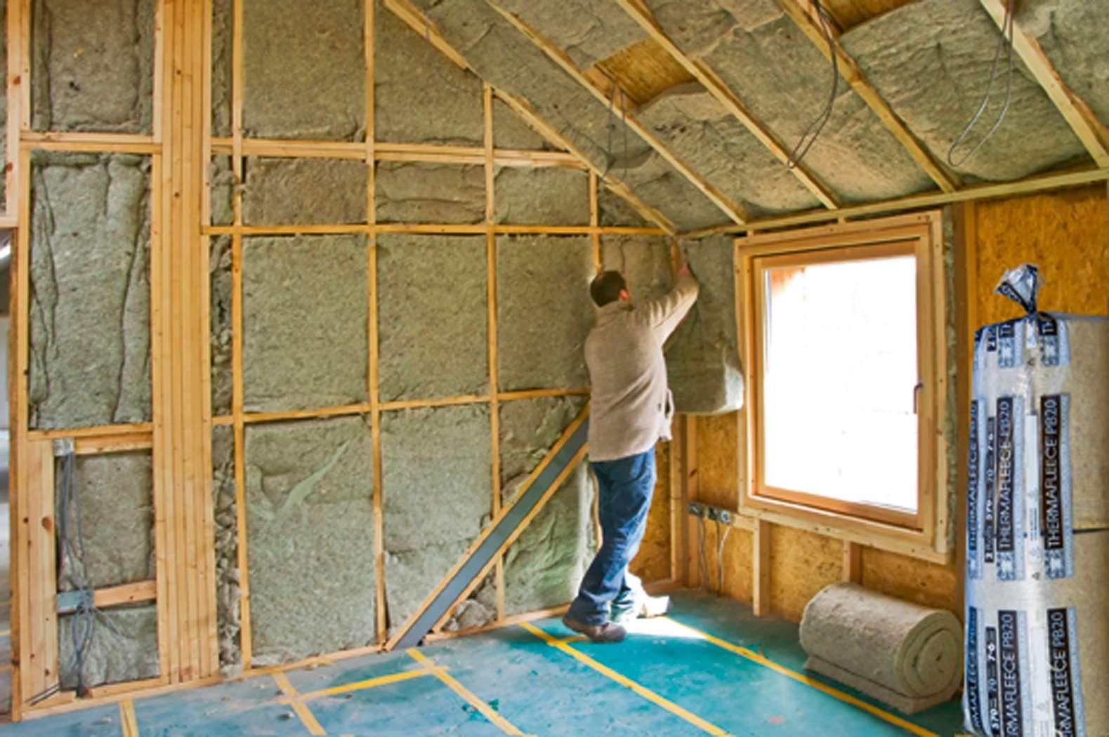 Как сделать стены дома фото